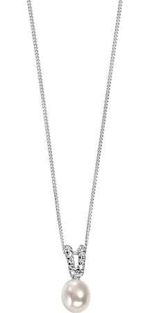 de8b9ac14041fc Elements Silver and Pearl Necklace & Silver and Pearl Necklace |  Wearitboutique