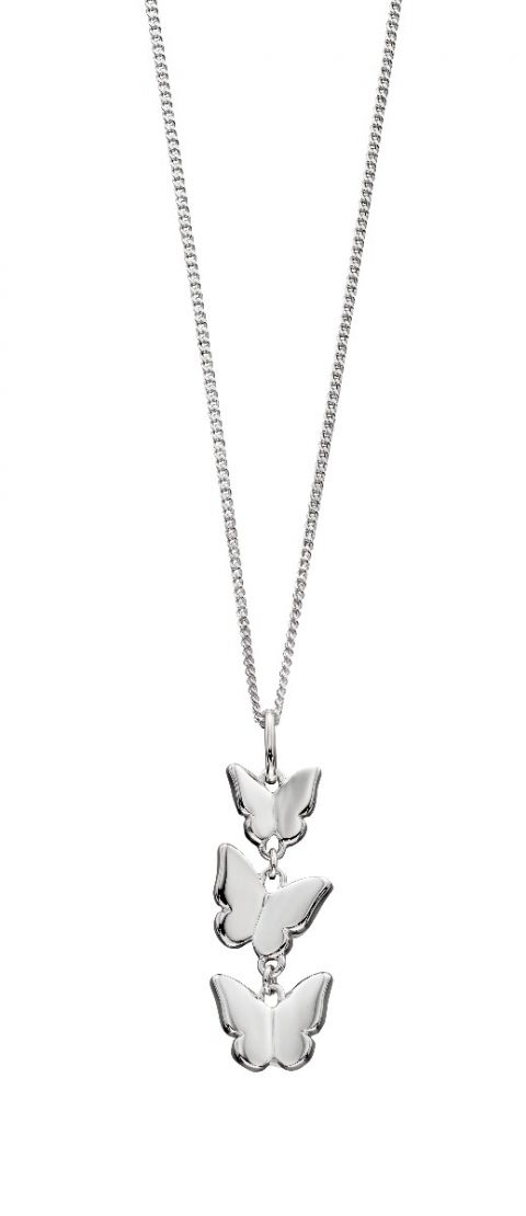 Elements Silver Butterfly Pendant P4711